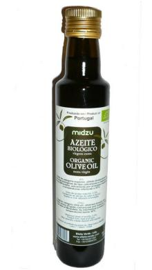 Azeite biol�gico virgem extra Midzu 250ml (garrafa vidro)