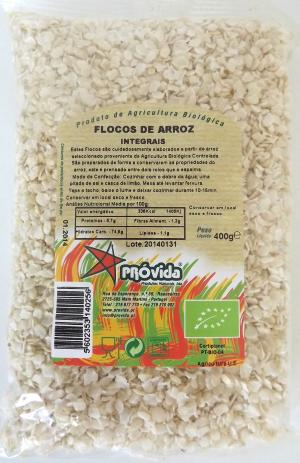 Flocos de arroz Bio 400g Pr�vida