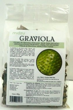 Graviola (em folha) Midzu 40g