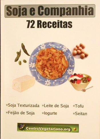 Livro Soja e companhia: 72 receitas