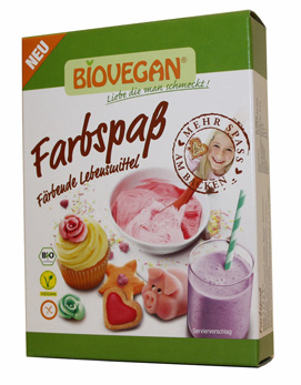 Corantes alimentares biológicos