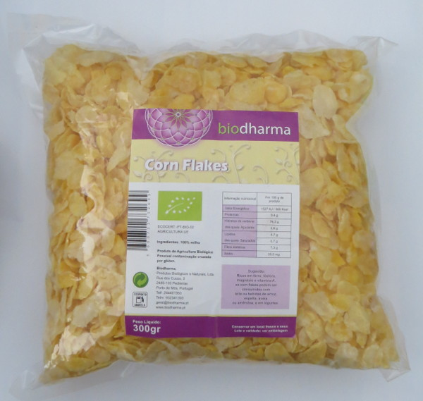 Corn flakes biológicos 300 g
