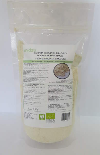 Farinha de quinoa biológica Midzu 250g