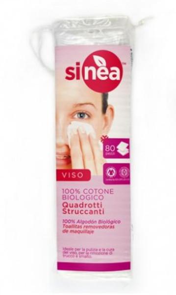 Discos desmaquilhantes - Sinea (em algodão biológico)
