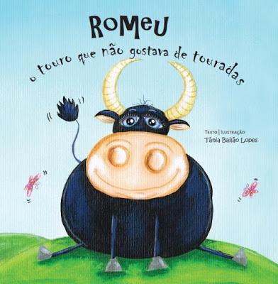 Livro Romeu, o touro que não gostava de touradas