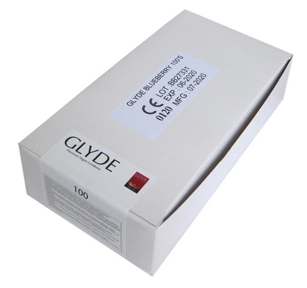 Preservativos mirtilo Glyde (100 unid.)