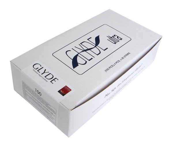 Preservativos transparentes Ultra Glyde (100 unid.)