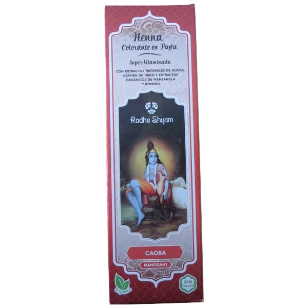 Coloração em pasta super-vitaminada Henna Caju 200 ml - Radhe Shyam