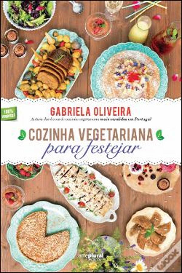 Livro Cozinha Vegetariana para Festejar