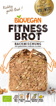 Preparado para pão fitness - sem glúten