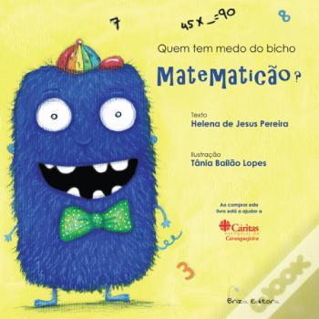 Livro Quem tem medo do bicho Matematicão