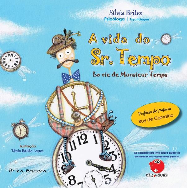 Livro A vida do Sr. Tempo