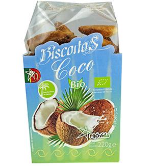 Biscoitos de Coco BIO 220g