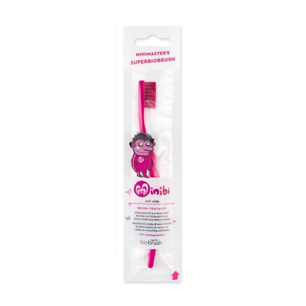Escova de dentes Eco criança - Magenta