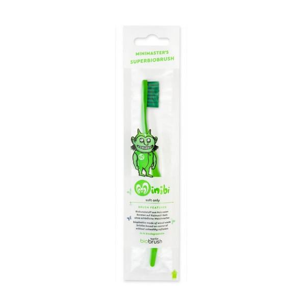 Escova de dentes Eco criança - Verde