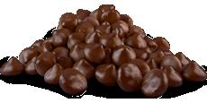 Pepitas de chocolate alternativa sem leite biológico 1Kg - sem glúten