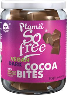 Pedaços de chocolate biológico com açúcar de coco (frasco) - sem glúten
