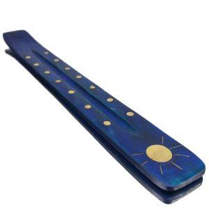 Queimador de Incenso madeira azul - Radhe Shyam