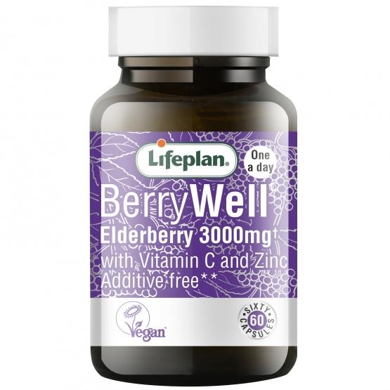 BerryWell (sabugueiro negro) - suplemento