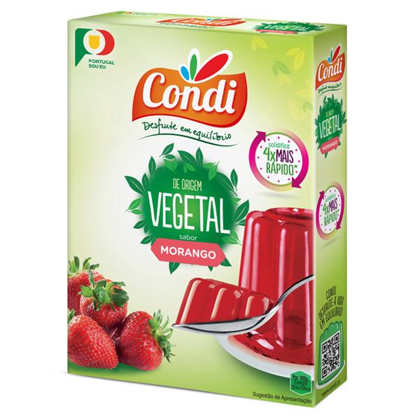 Gelatina Vegetal de Morango Condi