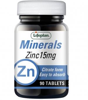 Citrato de Zinco 15 mg Lifeplan