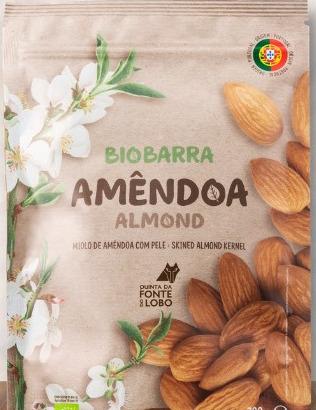 Amêndoa BIO Biobarra 1 kg