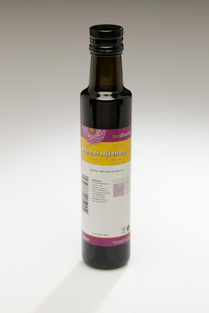 Molho de soja escuro 250ml