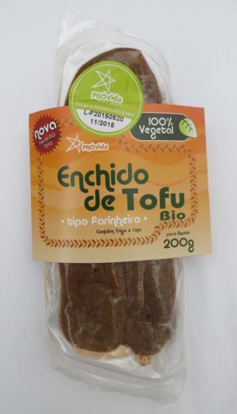 Enchido de Tofu (tipo Farinheira) 200 g