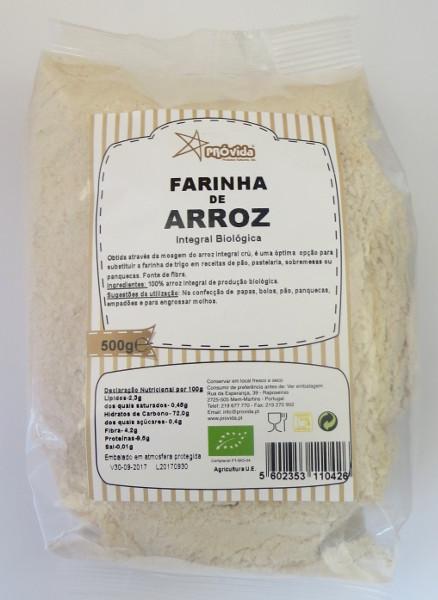 Farinha Arroz integral BIO 500g