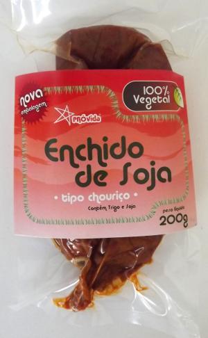 Enchido de Soja (tipo chouriço) 200 g