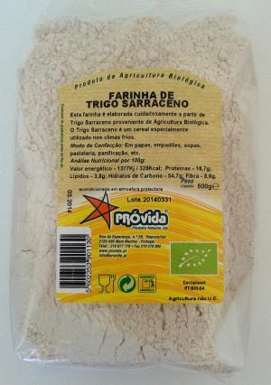 Farinha de Trigo Sarraceno BIO 500g