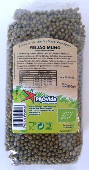 Feijão Mung BIO 500g