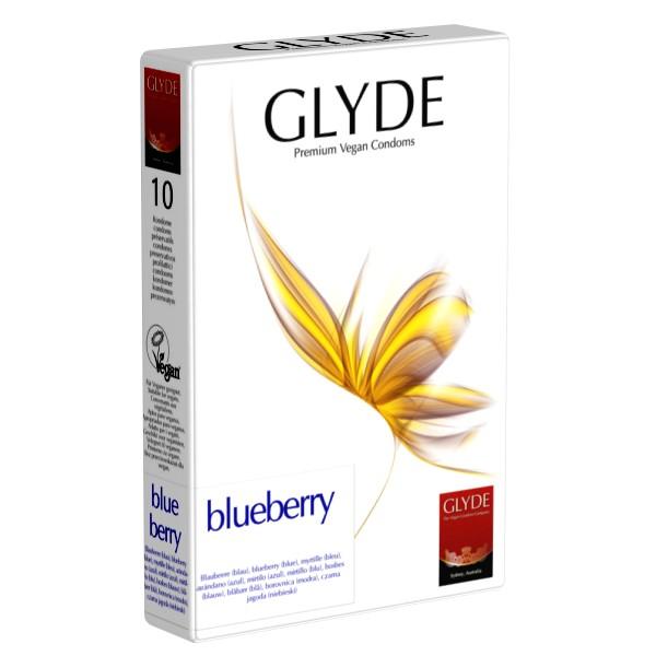 Preservativos mirtilo Glyde (10 unid.)
