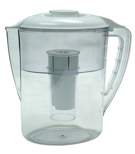 Jarro e filtro de água