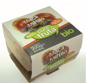 Puré de Mirtilo & Maçã BIO 2*100g