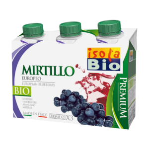 Sumo de Mirtilo Premium BIO - 3 x 200 ml